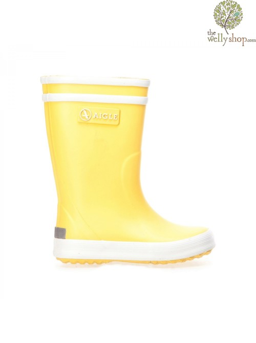 Aigle Lollypop Childrens Wellies - Yellow