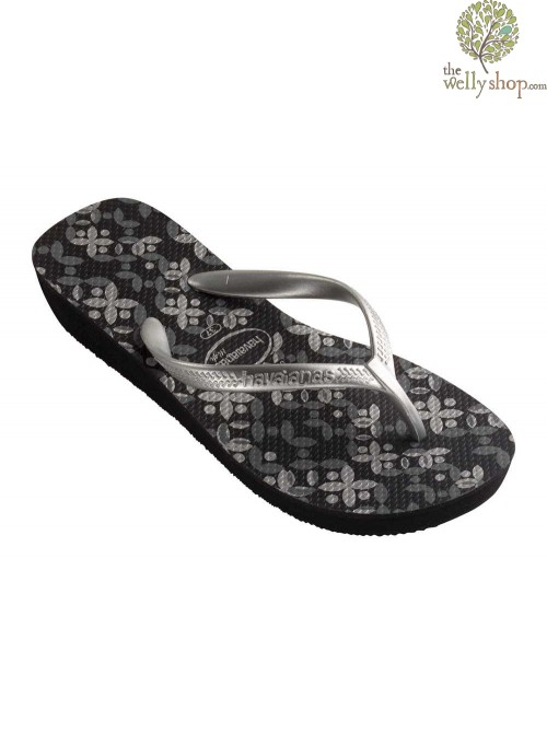 HAVAIANAS HIGH LIGHT FLIP FLOPS WITH HEIGHT (AVAILABLE IN UK SIZES EU37 - EU41)
