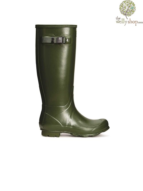 Hunter Women's Norris Field Vintage Green Wellington Boots