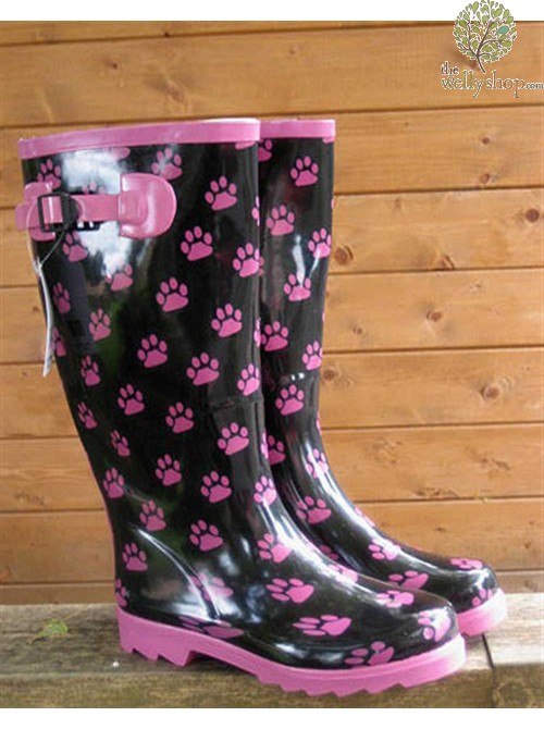 Black Paw Boots