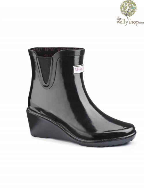 Wedge Welly Legend Chelsea Ankle Boots