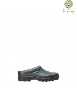 Aigle Limpo Gardening Clogs Green