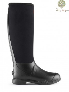 Hunter Balmoral Equestrian Neoprene Upper Stretch Fit Wide Calf