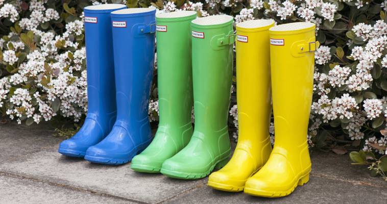 Coloured Wellies