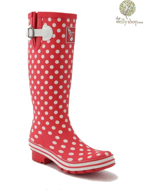 Evercreatures New Ditsy Dots Red