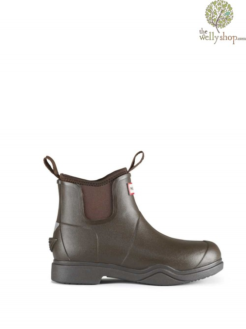 DISCONTINUED - Hunter Balmoral Equestrian Short Neoprene Lined for warmth - Riding Sole with metal shank for stability