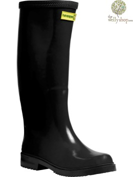 HAVAIANAS TALL LADIES BOOTS BLACK (AVAILABLE IN UK SIZES EU36 - EU42)