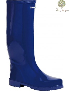HAVAIANAS TALL LADIES BOOTS NAVY (AVAILABLE IN UK SIZES EU36 - EU42)