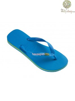 HAVAIANAS BRASIL LOGO FLIP FLOPS (AVAILABLE IN UK SIZES EU35/36 - EU45/46)