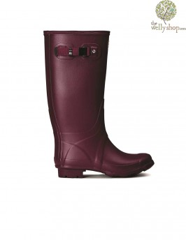 Hunter Women's Huntress Field Loganberry Wellington Boots