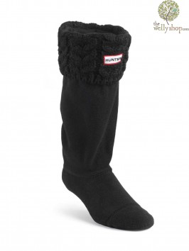 Hunter Chunky Cable Welly Warmers Socks