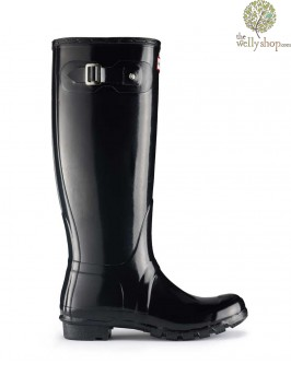 Hunter Original Tall Gloss Wellington Boots