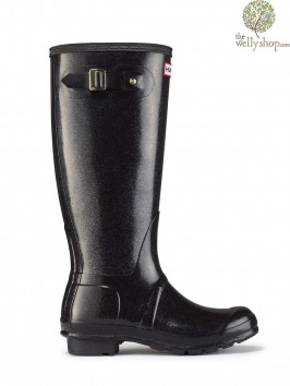 Hunter Original Tall Glitter Wellington Boots