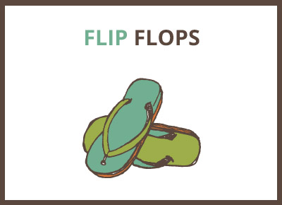 havaianas and other flip flops